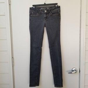 AE Stretch Low Rise Skinny Jeans